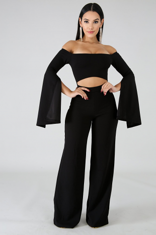 Cut The Chase Jumpsuit