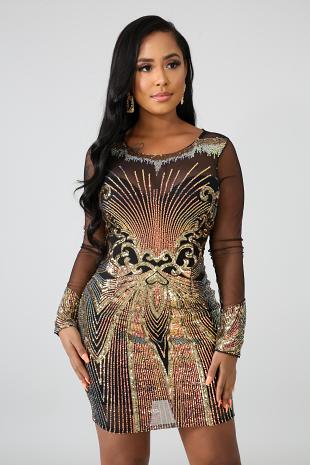 Glitz And Glamorous Dress
