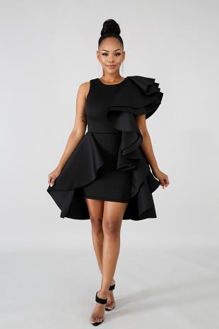 Diva Flare Body-Con Dress
