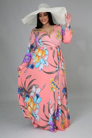 Floral Bloom Maxi Dress