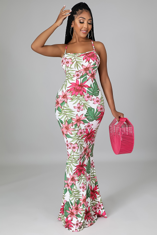 Floral Summers Dress