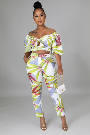 Canopy Summers Pant Set