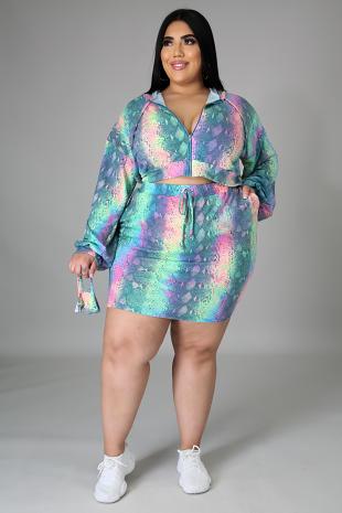 3pc Adorbs Skirt Set