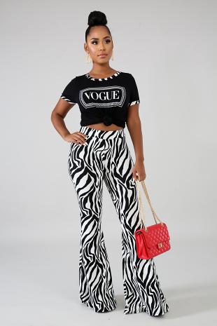 Stripes Vogue Set