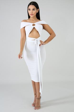 Elegance Midi Dress