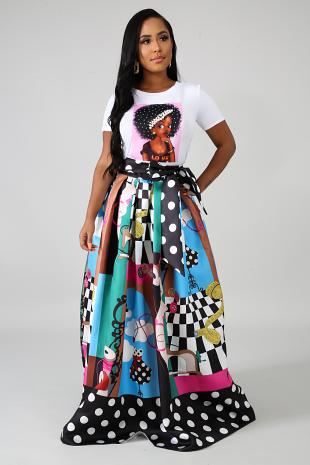 Fashionista Maxi Skirt