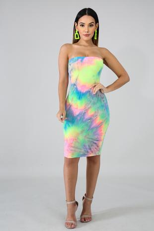 Aurora Body-Con Dress