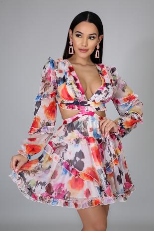 Flare Bloom Dress