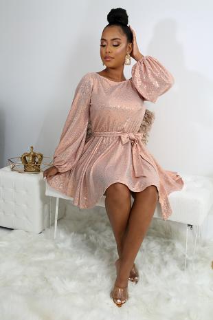 Sprinkle Flare Dress