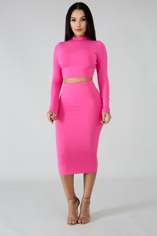 Classic Girl Skirt Set