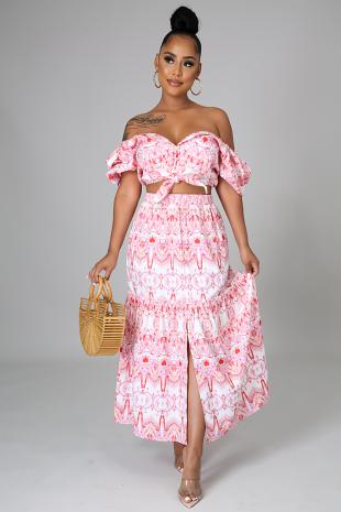Samira Love Skirt Set