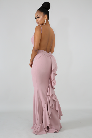 Flare Tail Mermaid Dress