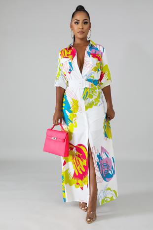 Joyful Maxi Dress