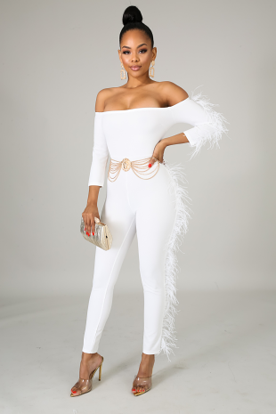 Feathery Jumpsuit