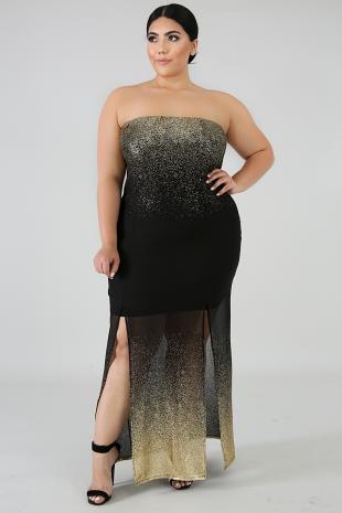 Sheer Sparkle Dust Dress