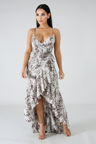Roaring Wrap Dress