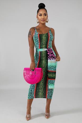 Possession Midi Dress