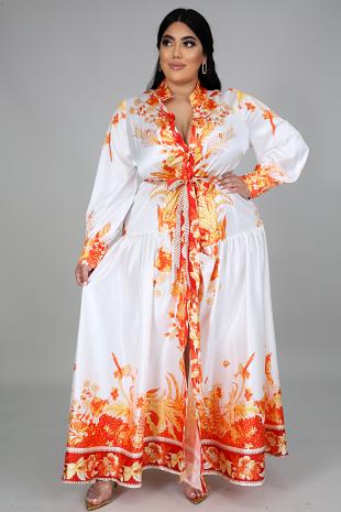 Floral Tribute Maxi Dress