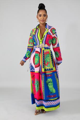 Palace Maxi Dress