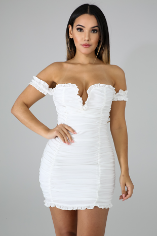 Dolly Ruched Dress