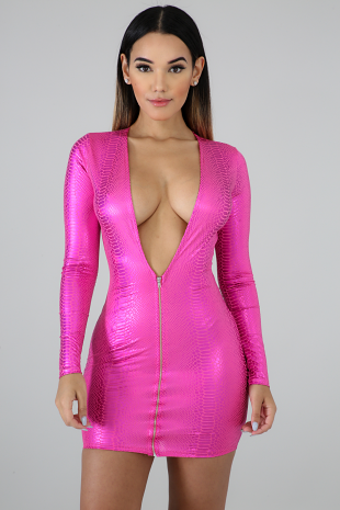 Shine On Body-Con Dress