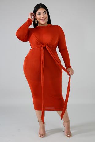 Hugs Midi Dress