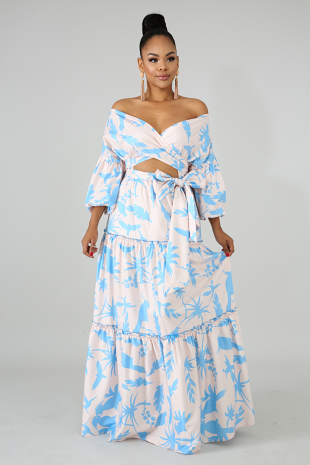 Love Bird Maxi Dress
