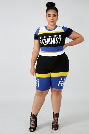 Feminist Short Set