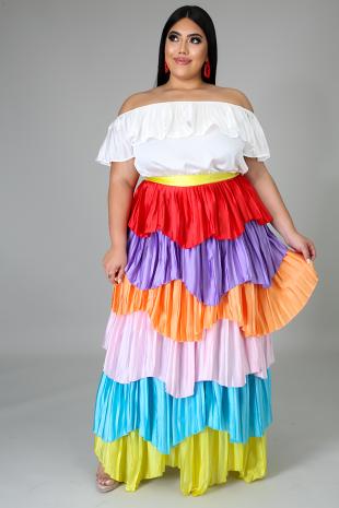 Mardigrass Maxi Dress