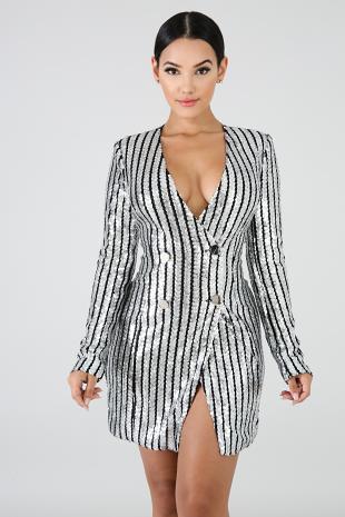 Sequin Pin Up Dress