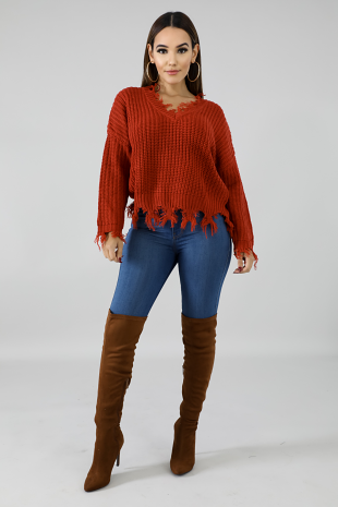 Maddy Sweater Top