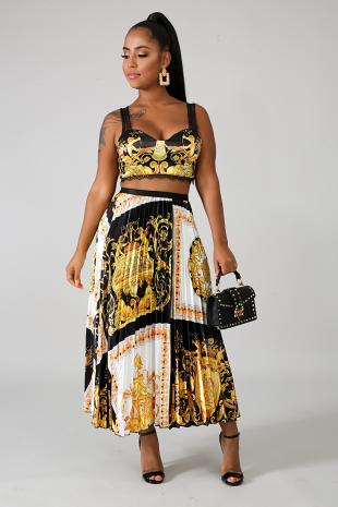 Athena Skirt Set