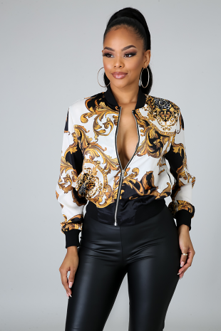 Rich Babe Jacket