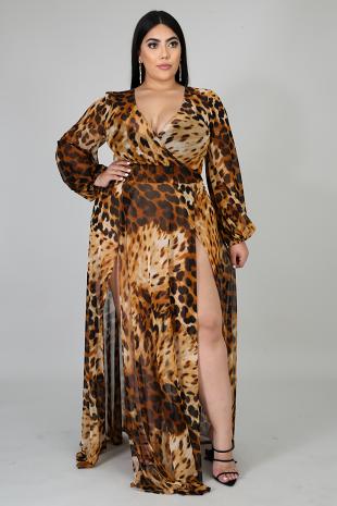Roaring Maxi Dress
