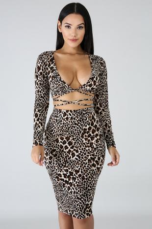 Catwalk Leopard Set