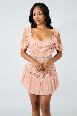 Swing Crochet Body-Con Dress