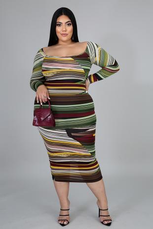 Styling Midi Dress