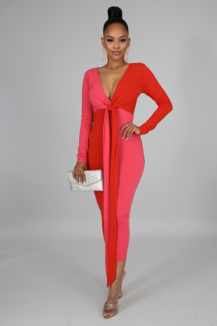 Sweet And Spicy Midi Dress