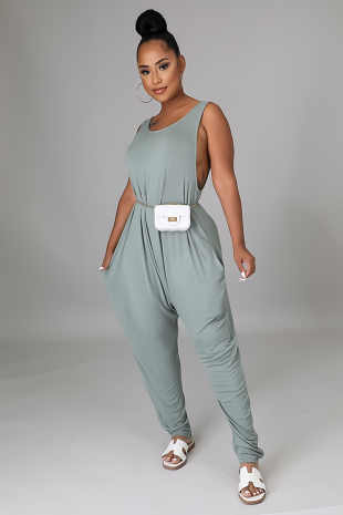 Slaying At Home Jumpsuit