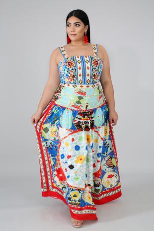Mystify Skirt Set