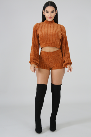 Mellow Knit Set