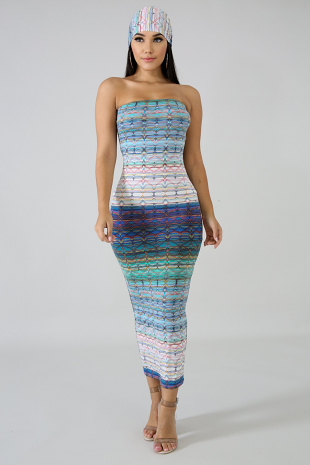 Know Your Angles Maxi Dress