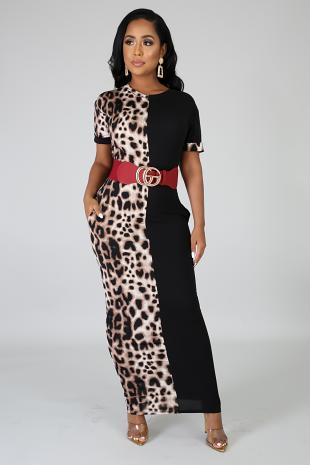 Wild Midi Dress