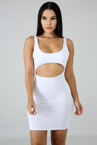 Cut Out Body-Con Dress