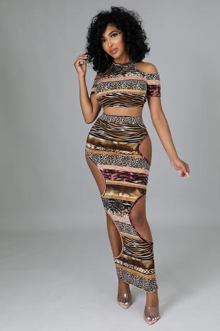 Melynda Skirt Set