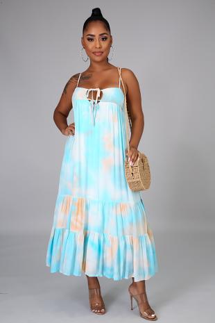 Dulce Pacifica Maxi Dress