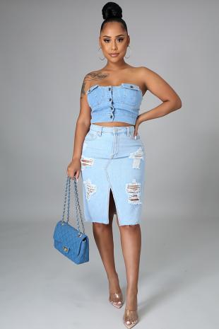 Brunch Time Skirt (Skirt Only)