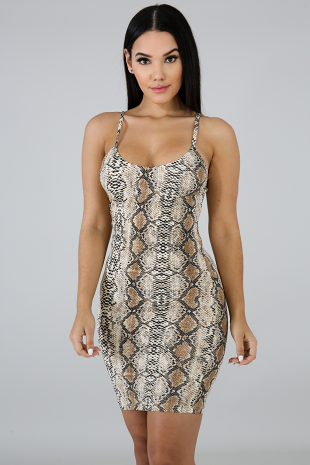 Curve Huggin Body-Con Dress