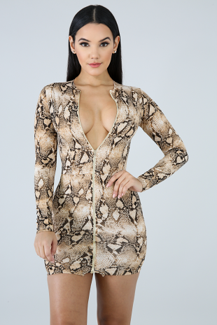 Mock Turtle Body con Dress