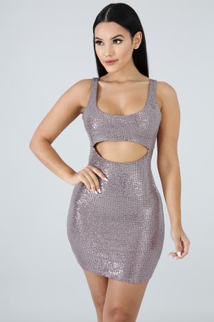 Show Your Glam Mini Dress